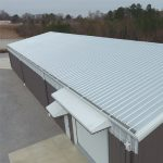 Metal Roof on a commercial unit